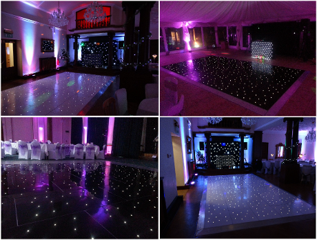Starlit, light up dance floors Durham, Newcastle, Middlesbrough, North East